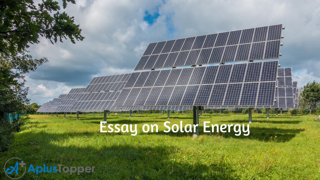 Essays on energy