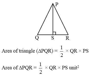 How to find the Areas of an Isosceles Triangle and an Equilateral Triangle 1