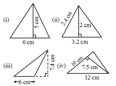 How to find the Areas of an Isosceles Triangle and an Equilateral Triangle 6