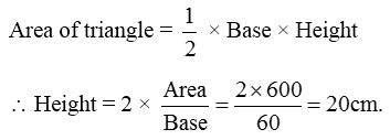 How to find the Areas of an Isosceles Triangle and an Equilateral Triangle 8