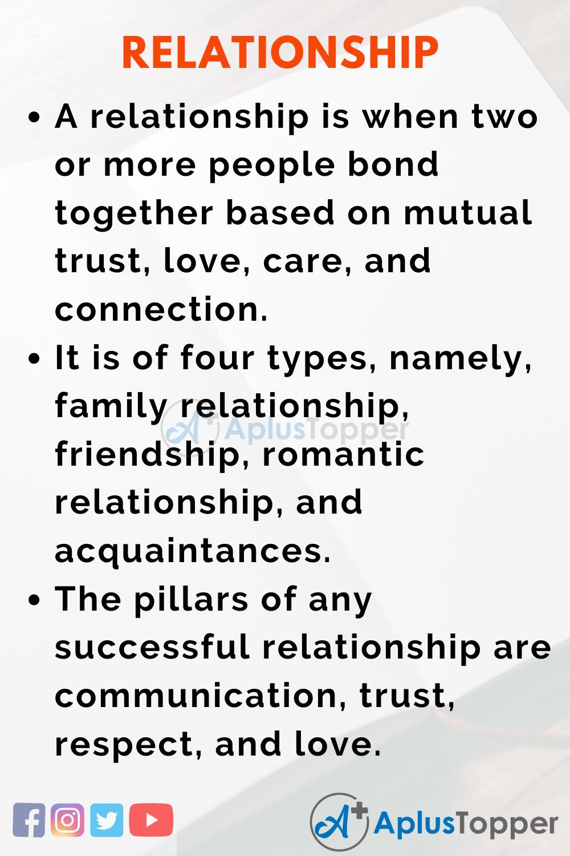 Relationship Essay