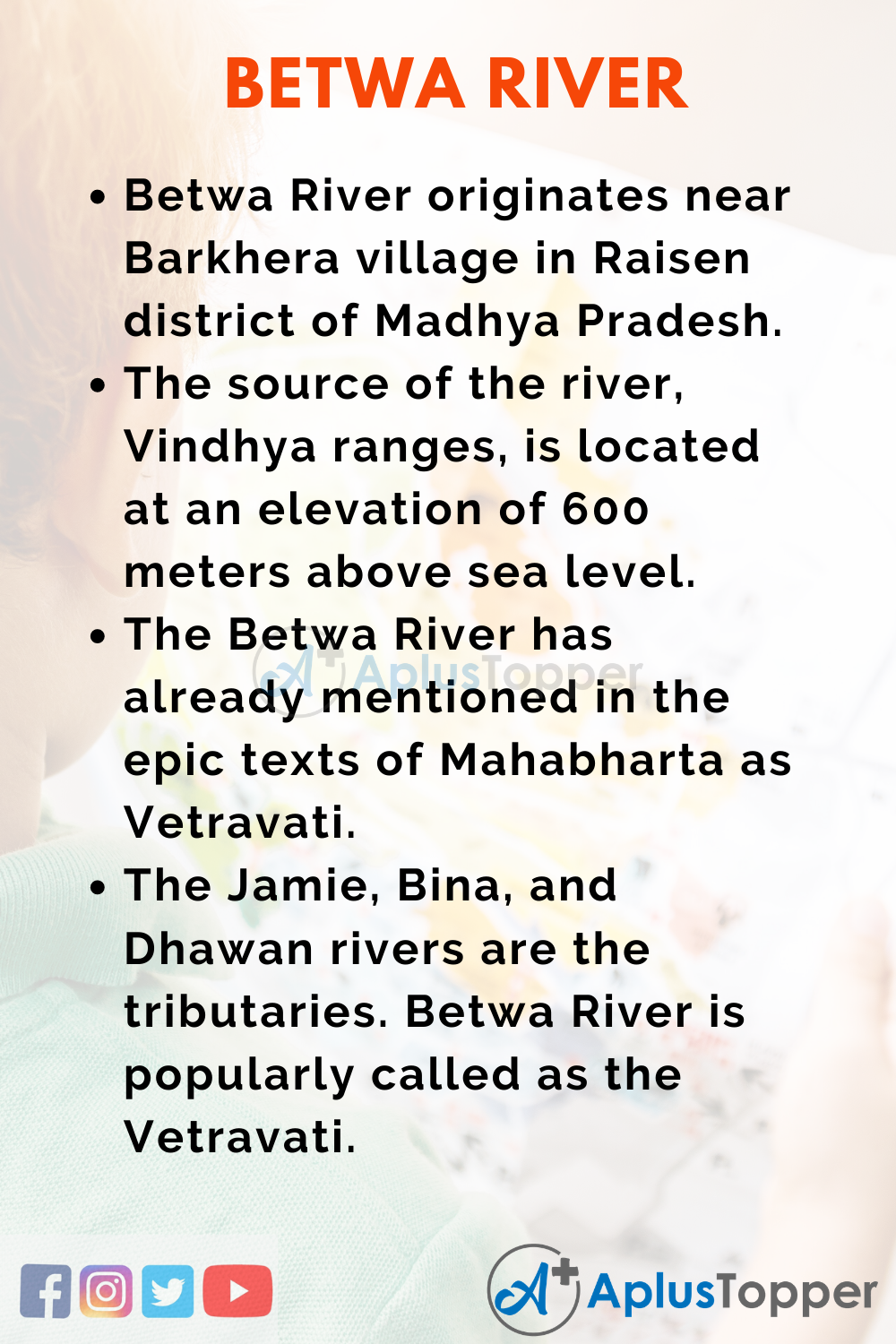10 Lines on Betwa River for Higher Class Students