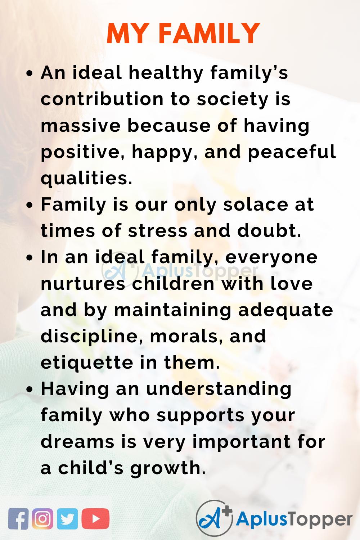 Describe a member of your family essay how to write a casrep