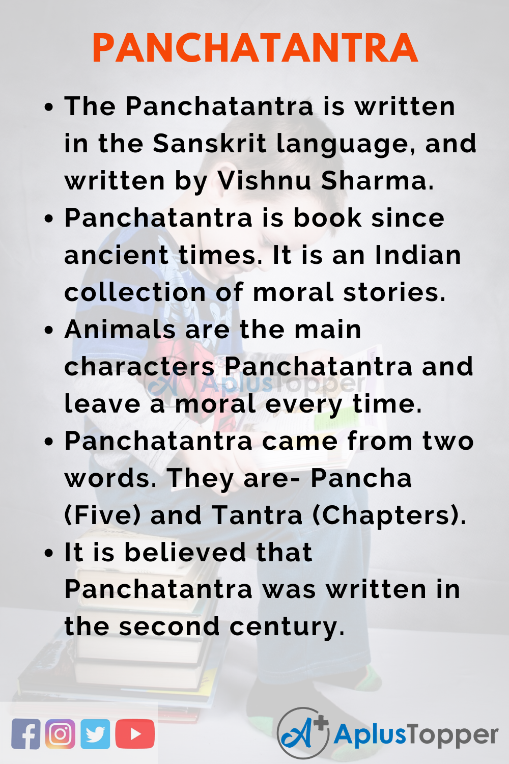 10 Lines on Panchatantra for Kids