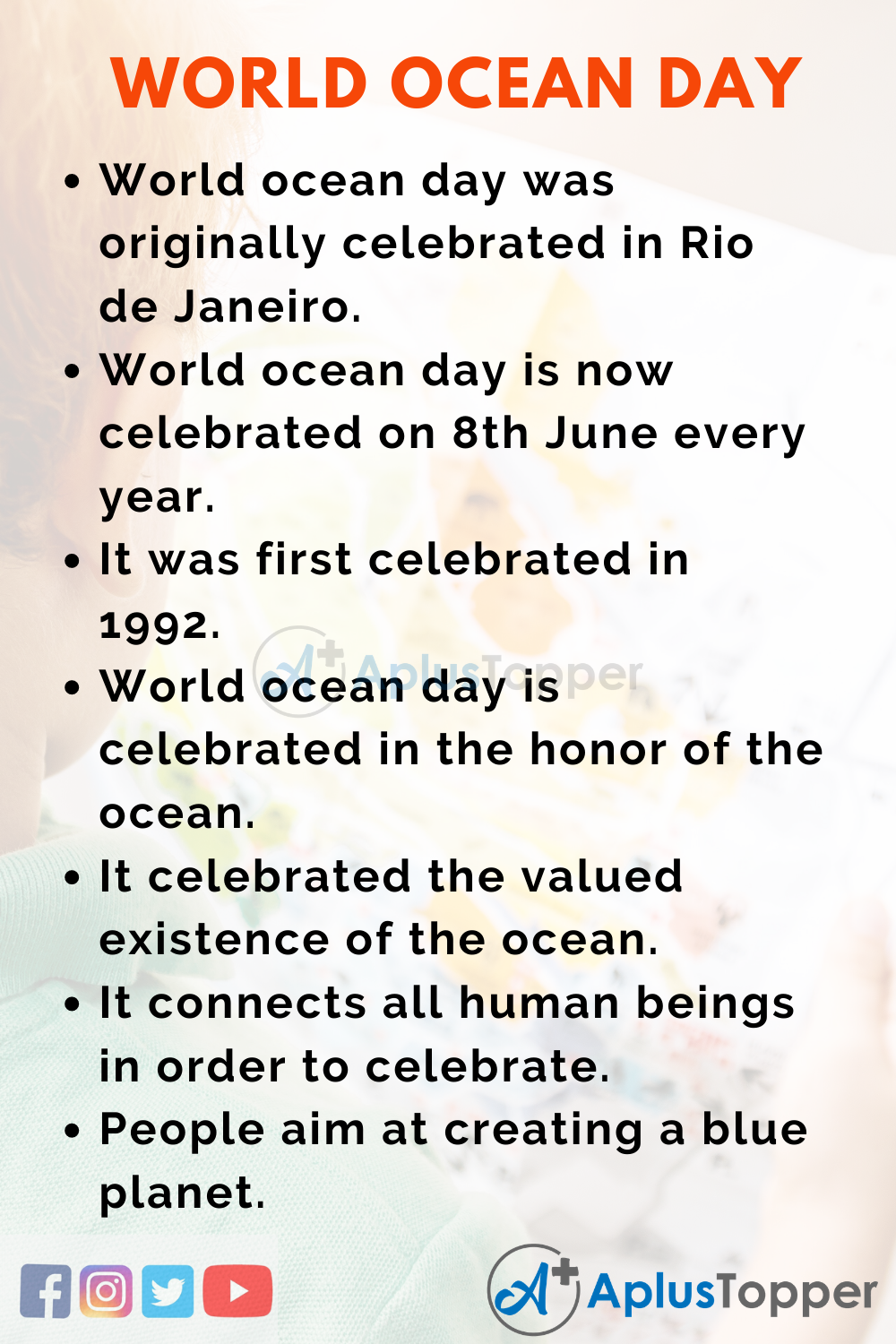 10 Lines on World Ocean Day for Kids