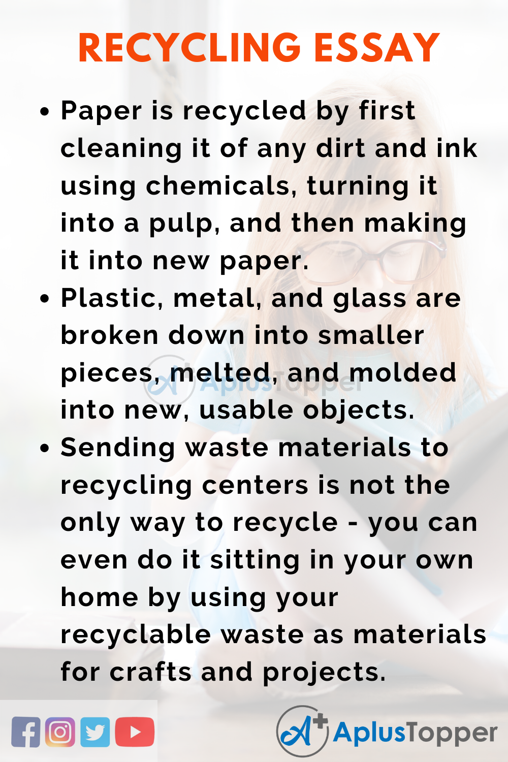 Essay About Recycling