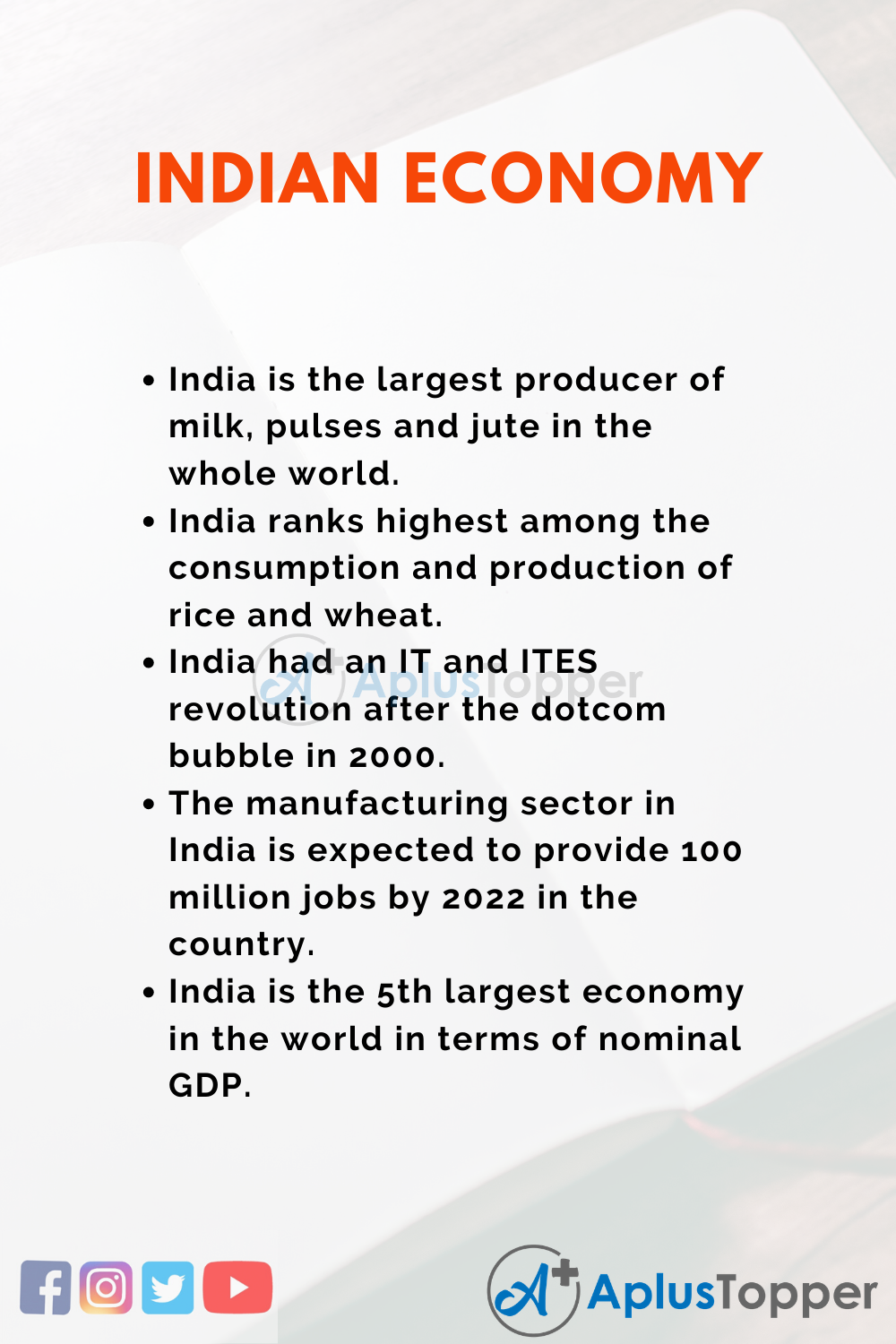 Essay about Indian Economy