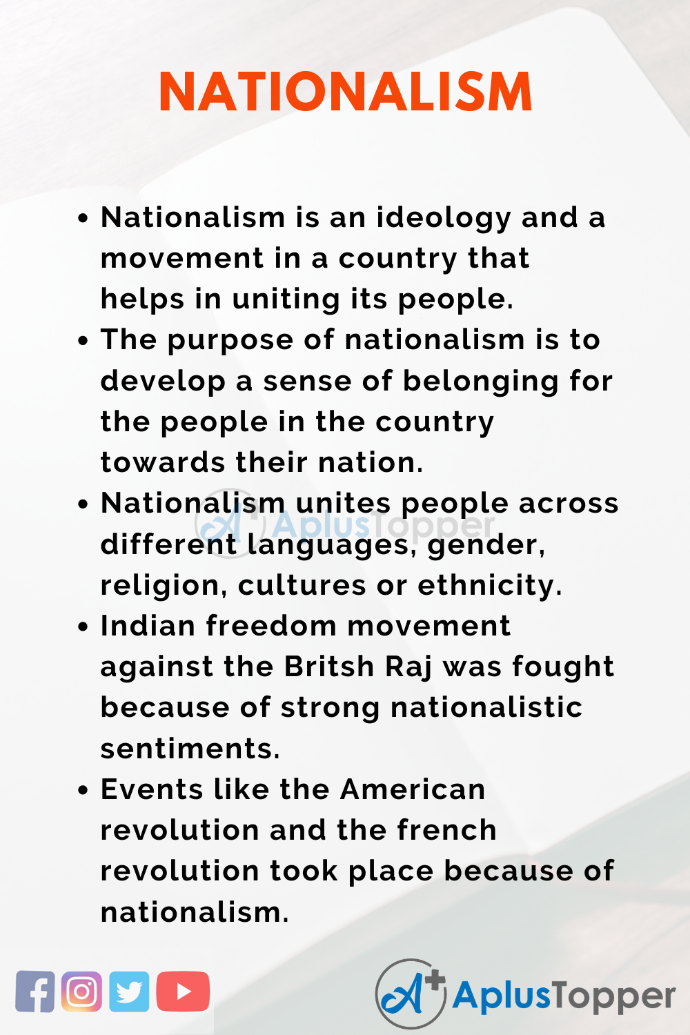 Essay about Nationalism