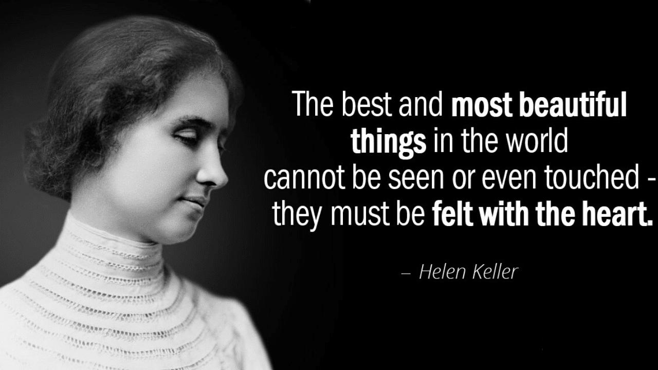 Essay on Helen Keller