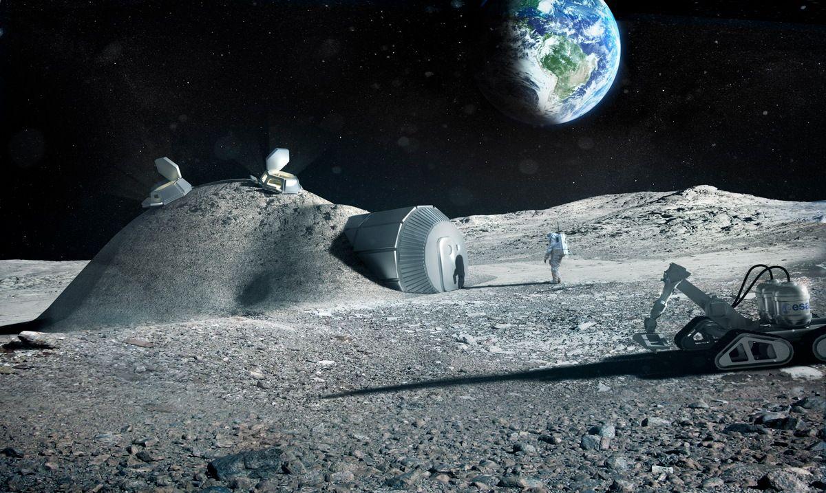 Life On Moon Essay