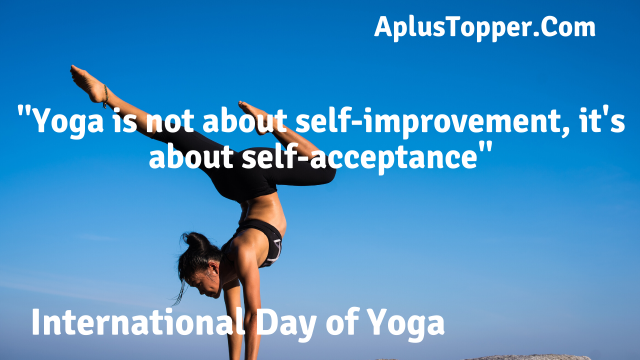 International Day of Yoga Quotes