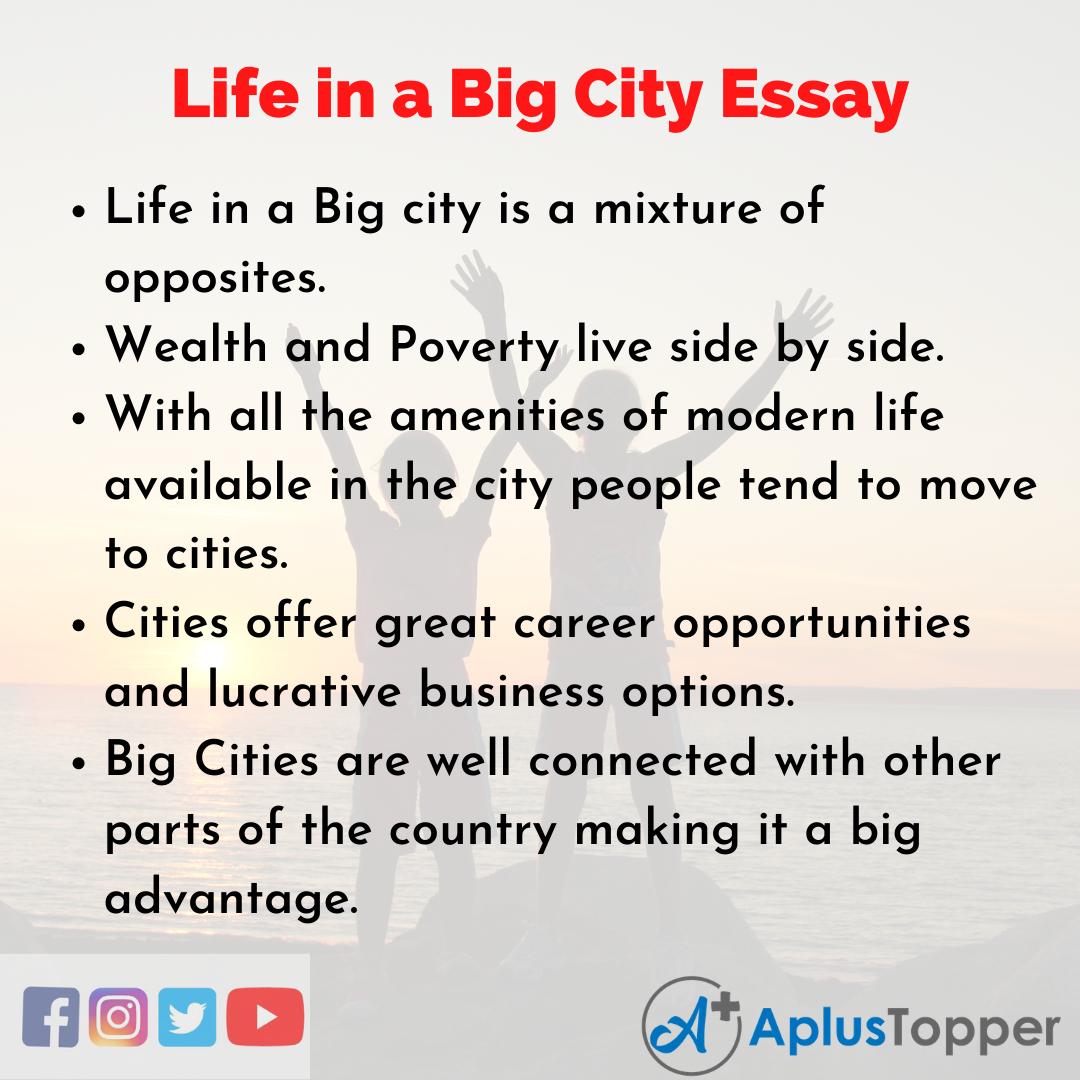 Life in a Big City