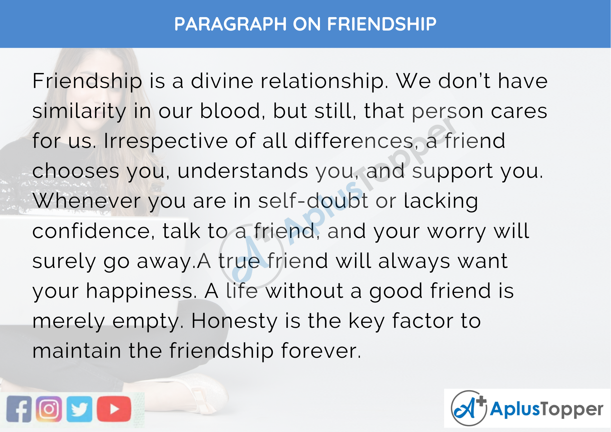 Essay on importance of friend in our life eavan boland leaving cert essay
