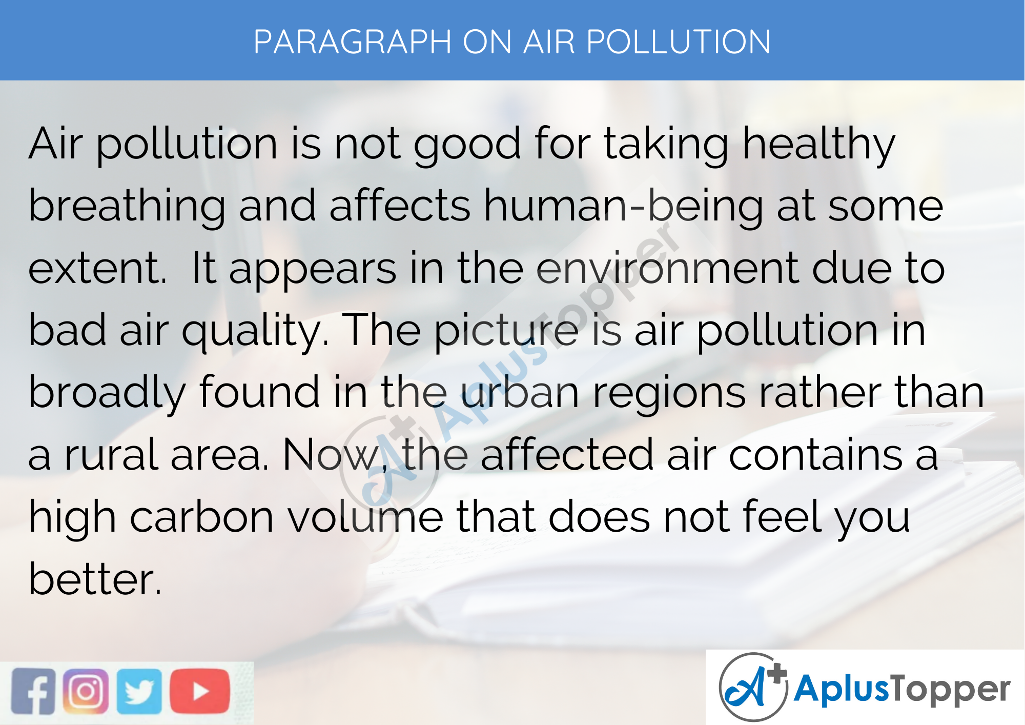 photo essay about air pollution