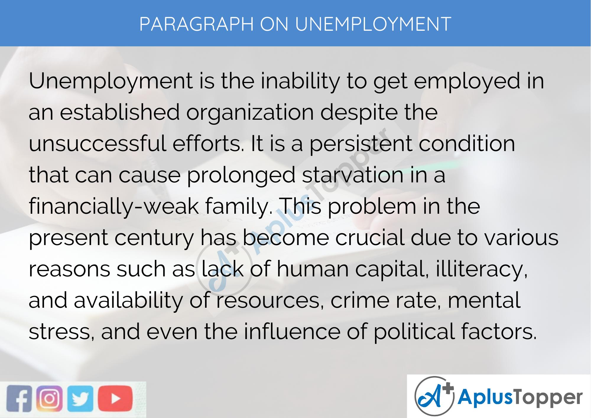 Essay english unemployment popular college essay ghostwriting websites online