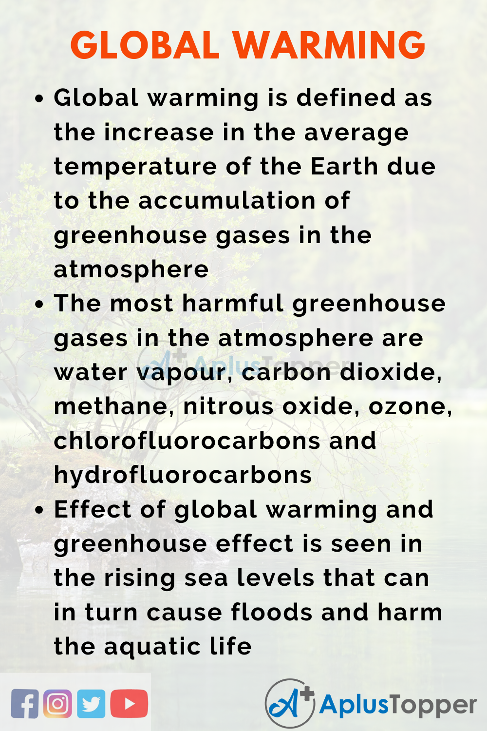 global warming conclusions for an essay