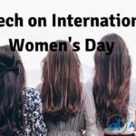 Speech on International Women's Day