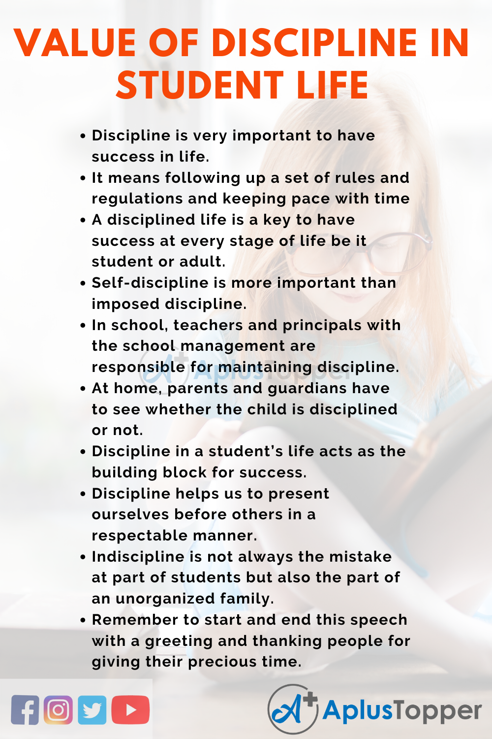 Essay about discipline in student life write a frago