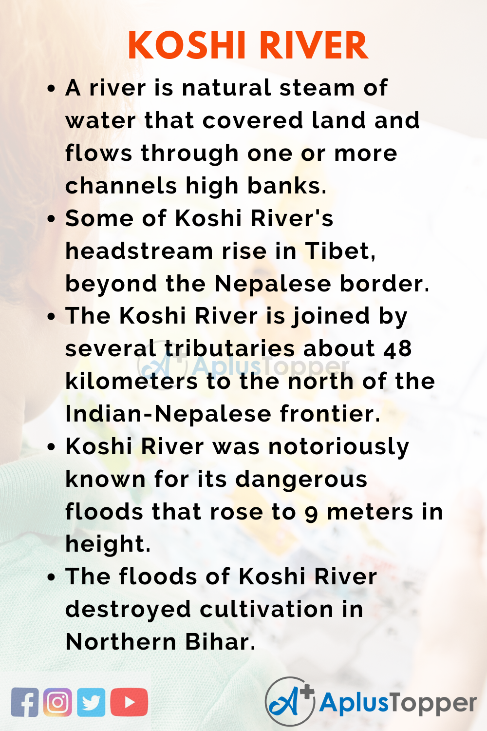 10 Lines On Koshi River for Kids