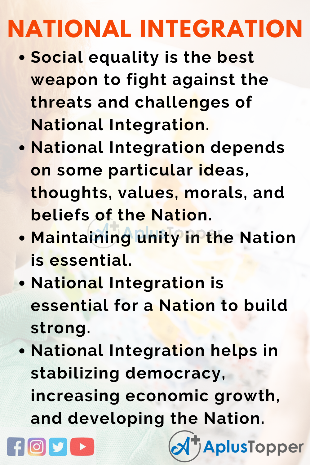 10 Lines for National Integration