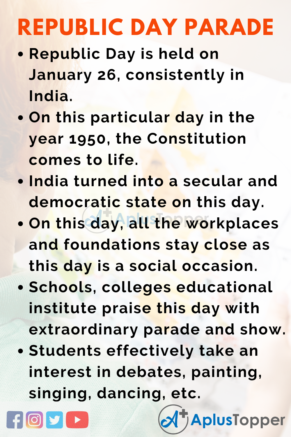 10 Lines of Republic Day Parade