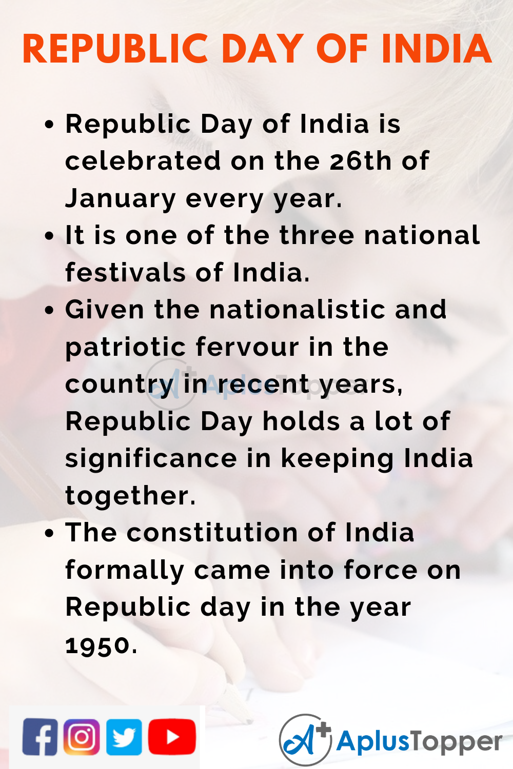 republic day essay in english 10 lines