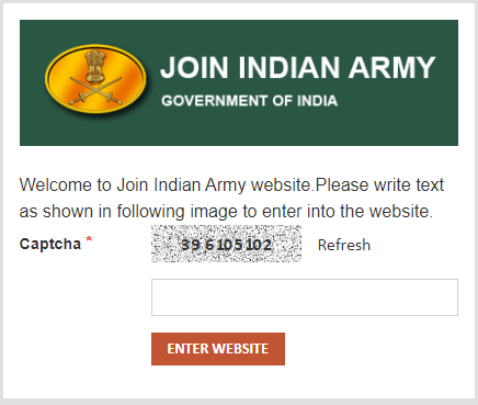 Join Indian Army Admit Card Download