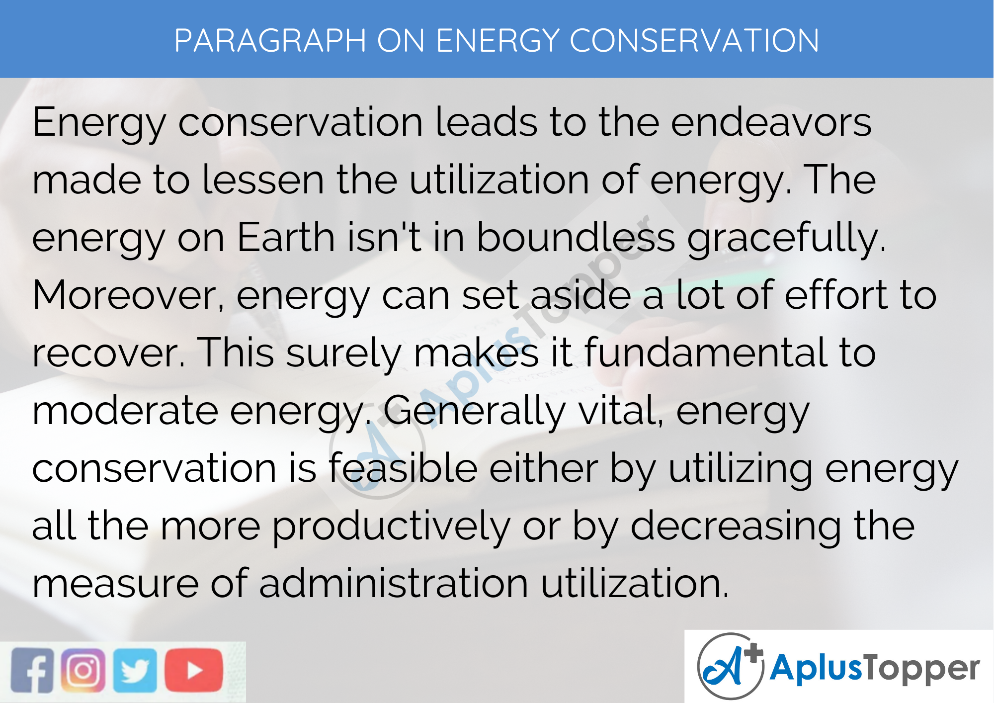 Short essay on conservation of electricity how to write a fairy tale with a twist