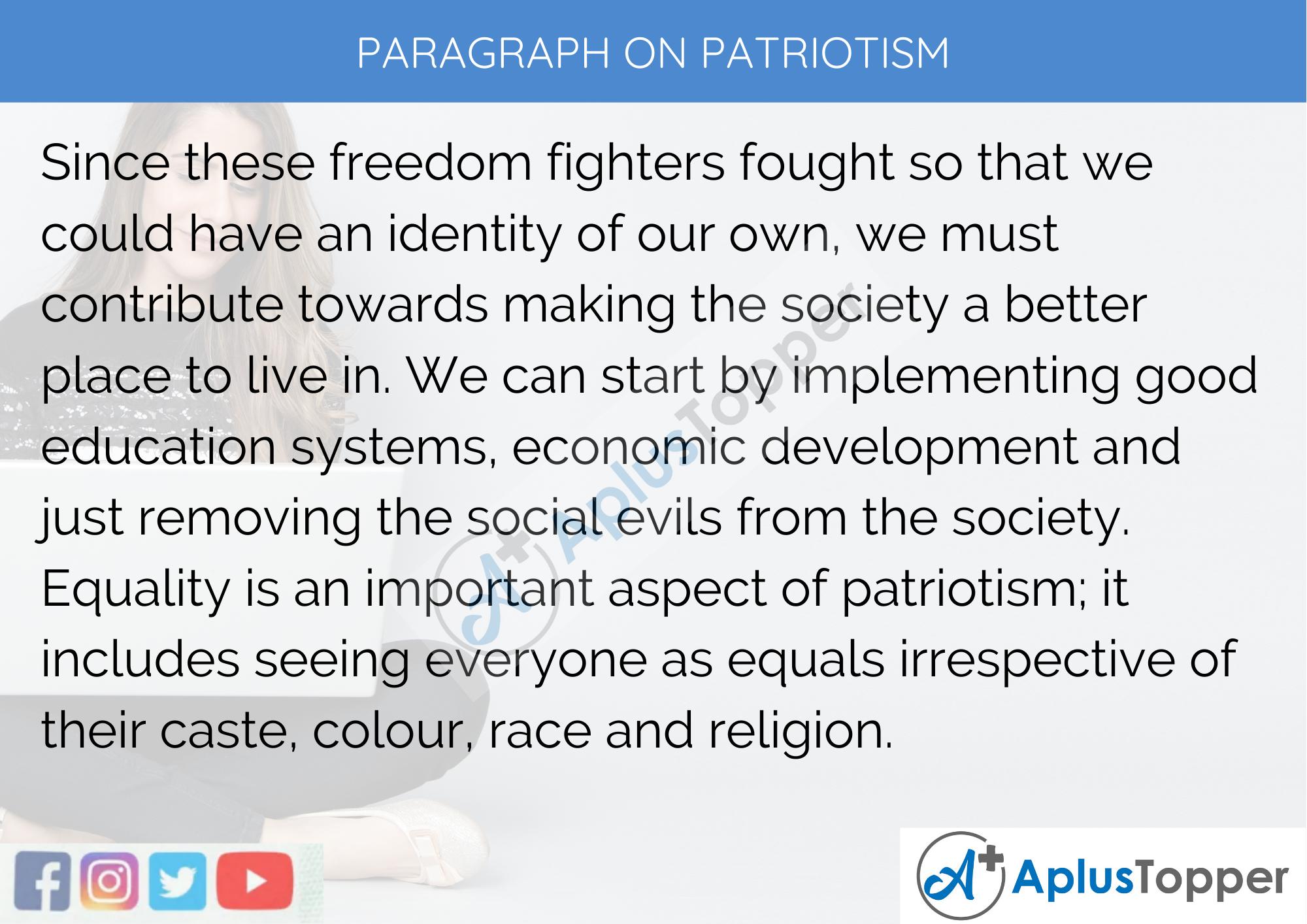 Time patriotism essay intermediate 2 computing homework
