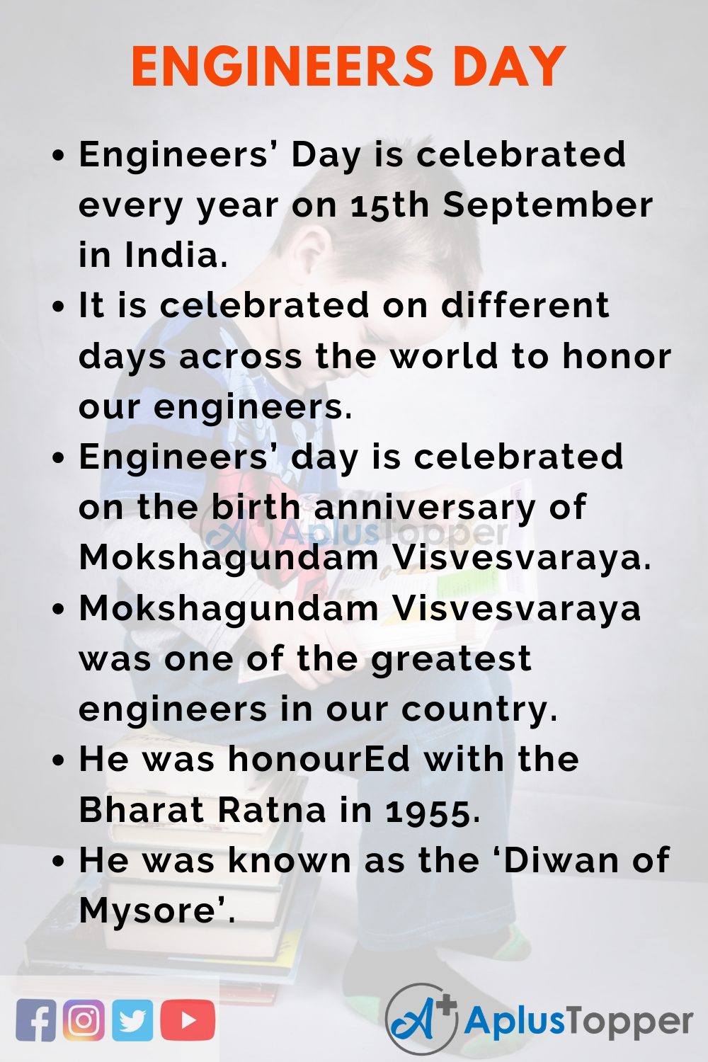 10 Lines on Engineers' Day for Kids