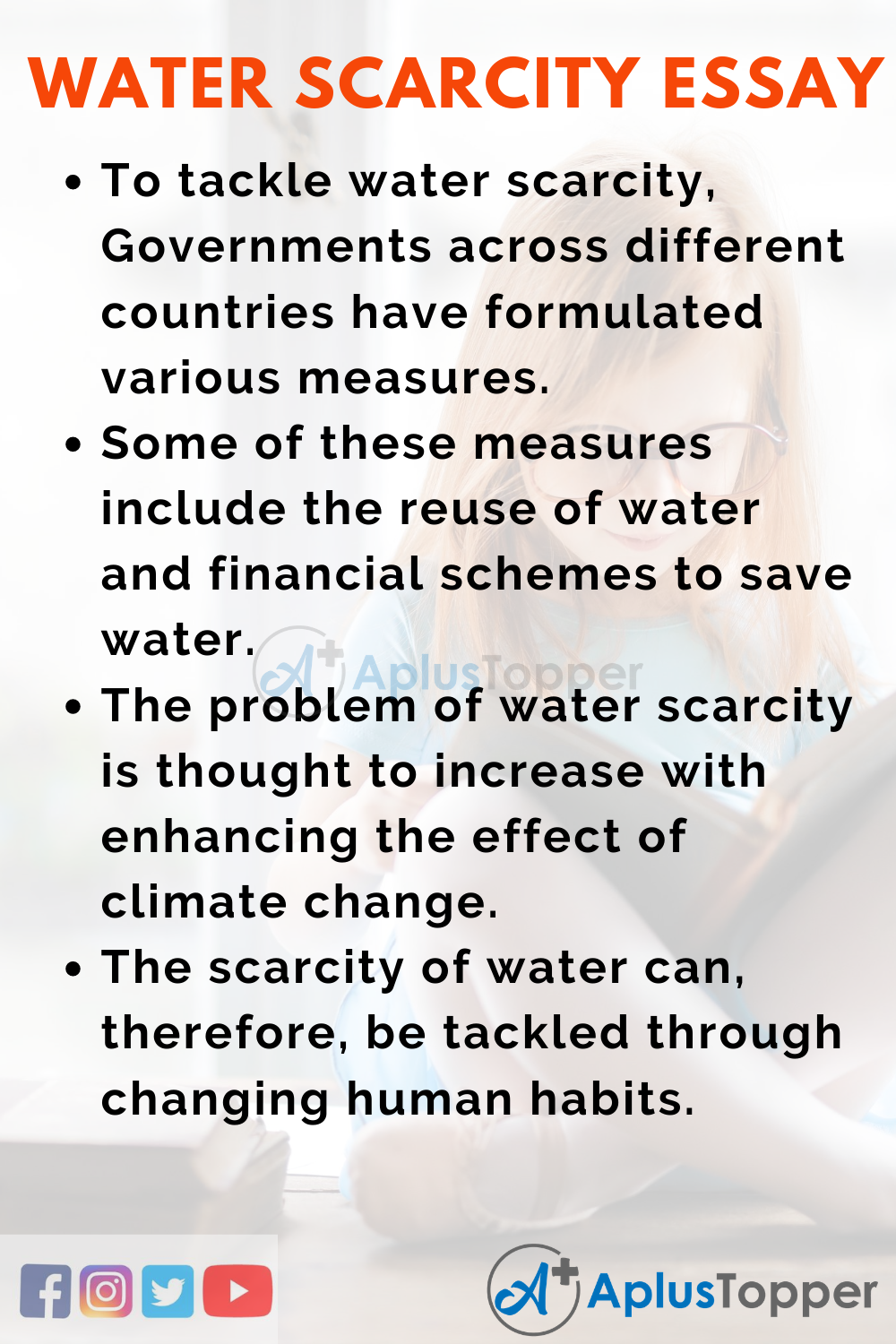 Short Essay On Water Scarcity 150 Words In English