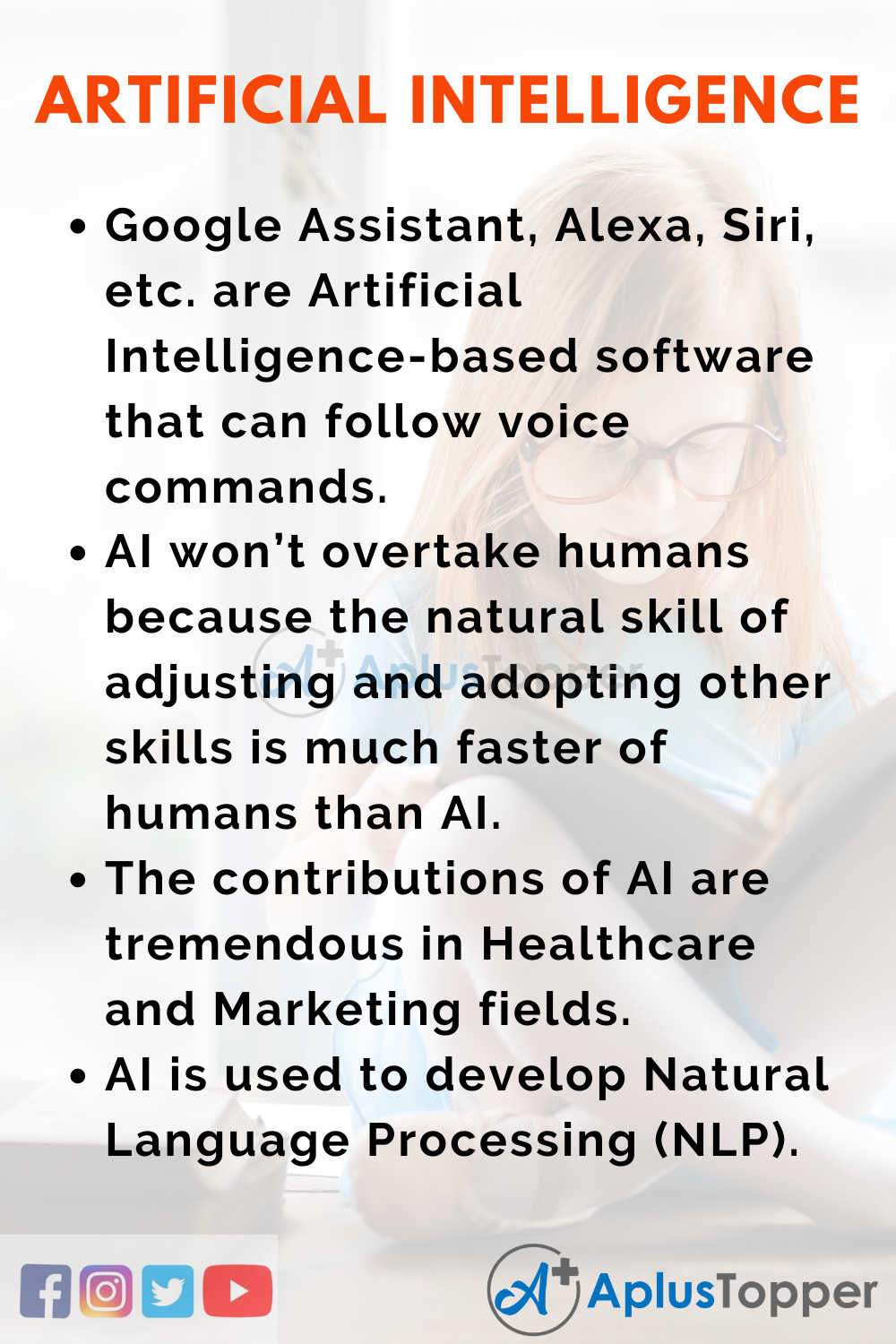 Short Essay on Artificial Intelligence 150 Words In English