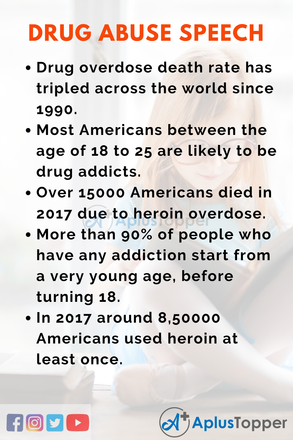 Short Speech On Drug Abuse 150 Words In English