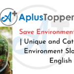 Save Environment Slogans