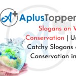 Slogans on Water Conservation
