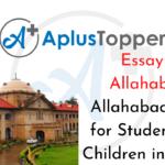 Allahabad Essay