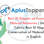 Best 10 Slogans on Conservation of Natural Resources