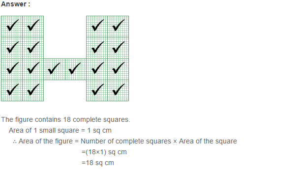 Concepts of Perimeter and Area RS Aggarwal Class 6 Maths Solutions Ex 21C 2.1