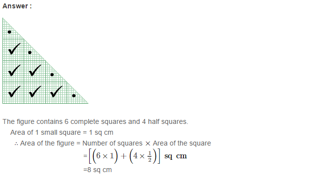 Concepts of Perimeter and Area RS Aggarwal Class 6 Maths Solutions Ex 21C 4.1
