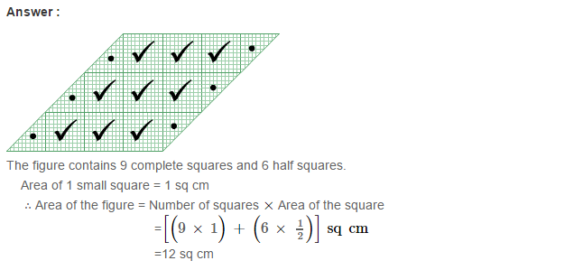 Concepts of Perimeter and Area RS Aggarwal Class 6 Maths Solutions Ex 21C 5.1