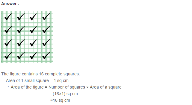 Concepts of Perimeter and Area RS Aggarwal Class 6 Maths Solutions Ex 21C 6.1