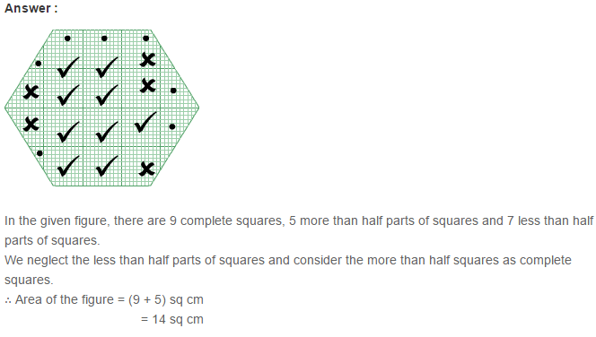 Concepts of Perimeter and Area RS Aggarwal Class 6 Maths Solutions Ex 21C 8.1