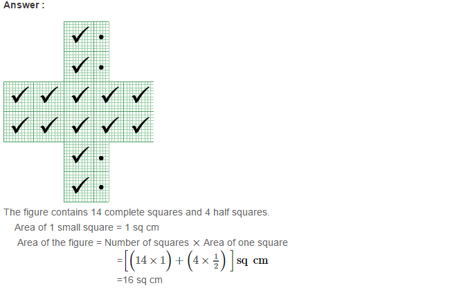 Concepts of Perimeter and Area RS Aggarwal Class 6 Maths Solutions Ex 21C 9.1
