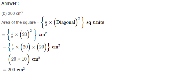 Concepts of Perimeter and Area RS Aggarwal Class 6 Maths Solutions Exercise 21E 8.1