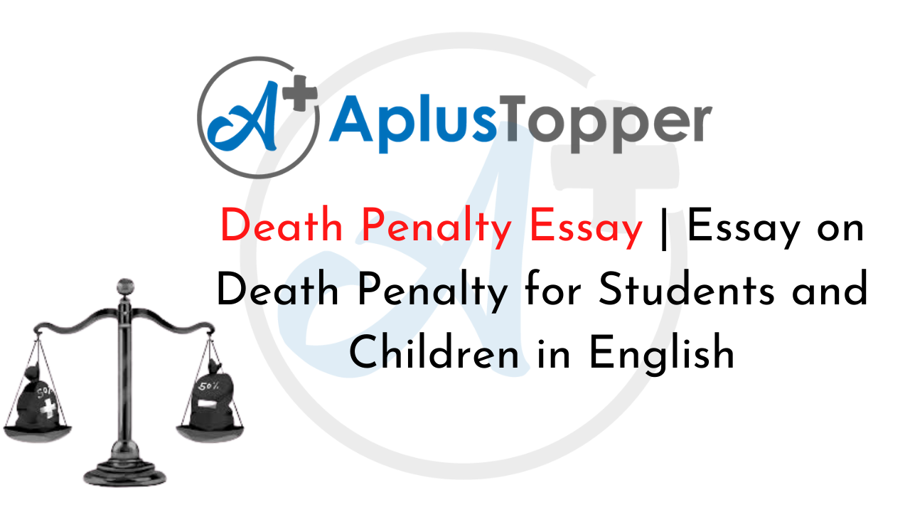 Death penalty for children essay professional course work ghostwriter websites uk