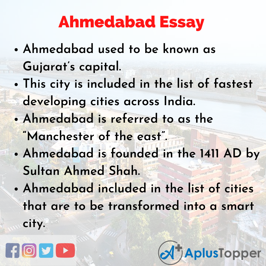 Essay about Ahmedabad