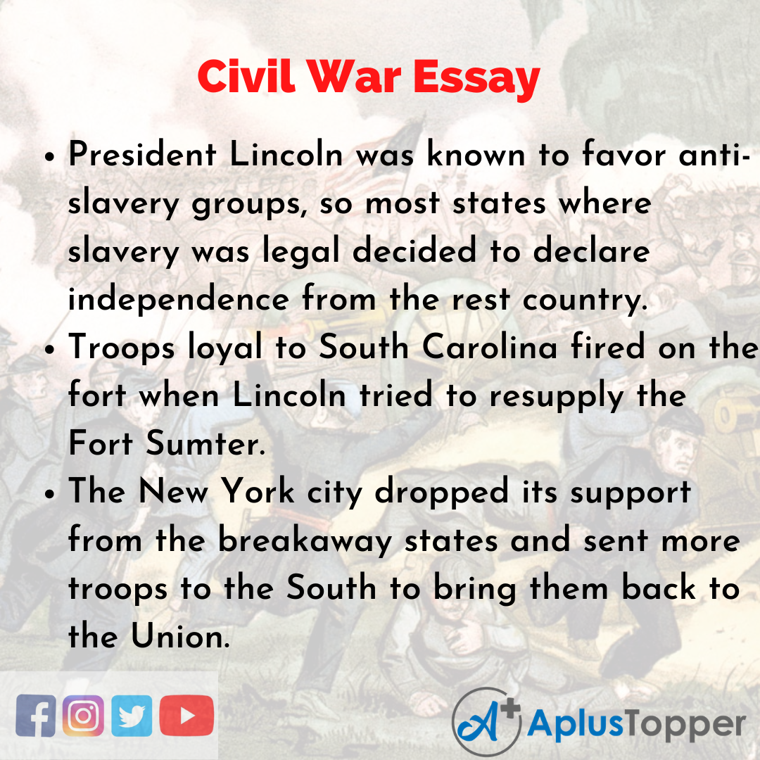 Essay about Civil War