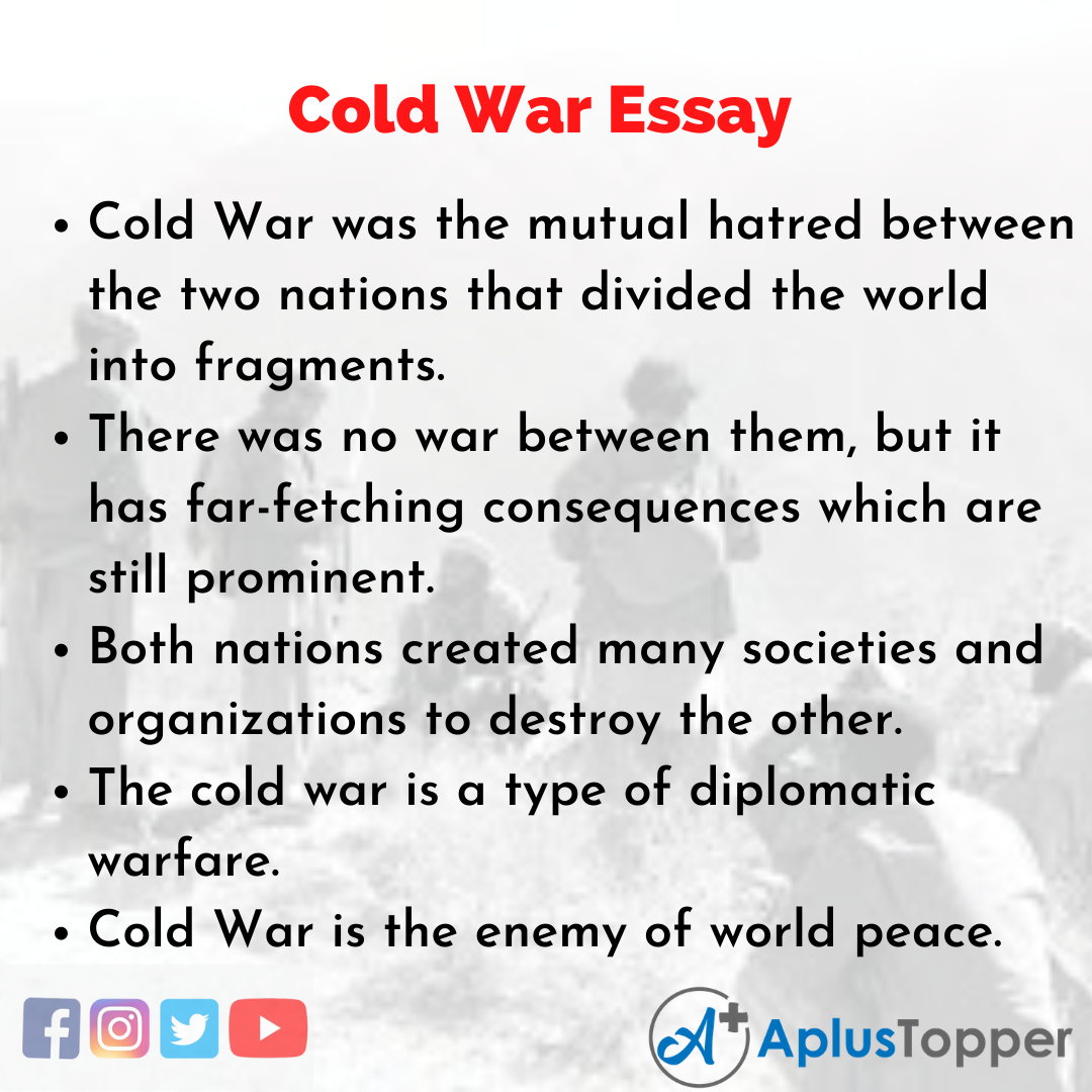Essay about Cold War