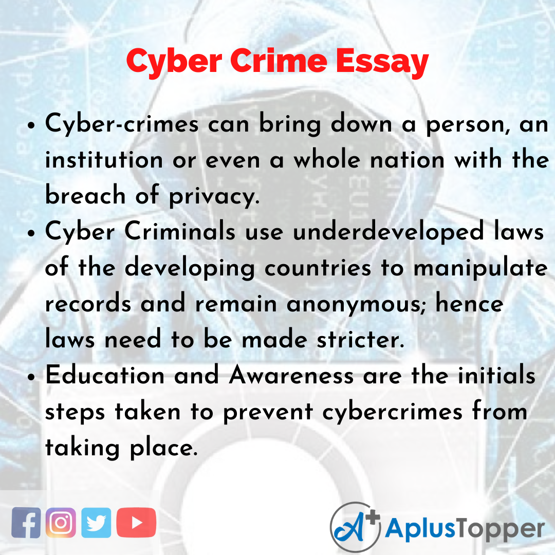 Essay about Cyber Crime
