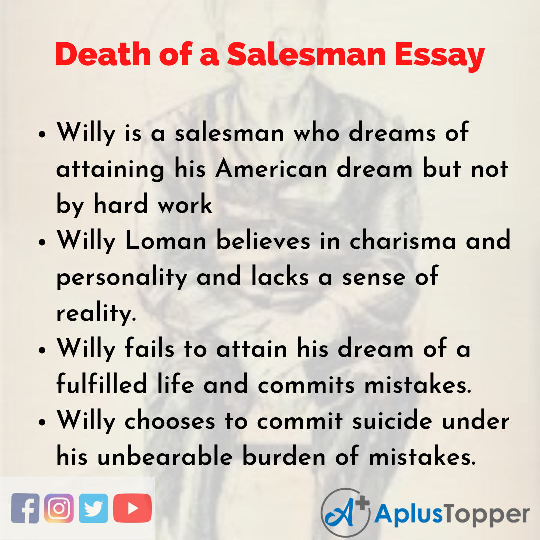 Essay about Death of a Salesman